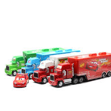 100 Lightning Mcqueen Truck Sale Disney Pixar Cars 2 Toys 2pcs McQueen Mack The