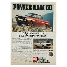 1982 Dodge Power Ram 50 Truck Print Ad 1946 Dodge Truck For Sale New 50 Panel No Reserve 7kmile 1982 Ram Sale On Bat Auctions Tractor Cstruction Plant Wiki Fandom Powered By 1990 Pickup Truck Item I9338 Sold April 1 Junkyard Find 1983 Prospector The Truth About Cars Index Of Carphotosdodgetrucks Filedodge 50jpg Wikipedia When Don Met Vitoa Super Summit Story Featuring A 1950 4x4 With 4d56 T Youtube Perfect Pickup 1980 D50 Sport