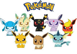 Paper Craft Pokemon Eevee Evolution Mini Papercrafts Free Templates Download