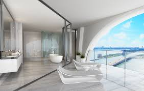 Usa Tile Biscayne Blvd by 1000 Museum Penthouses Miami Luxury Penthouses