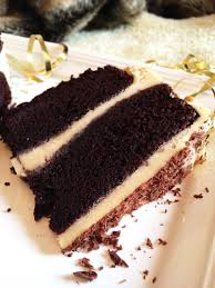 the best chocolate cake holiday birthday cream filling vanilla icing delicious cokoladna torta two layer shavings