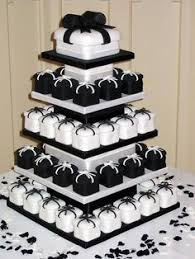 Elegant Black And White Wedding Cakes