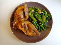 cuisine pigeon roast pigeon the everyday chef