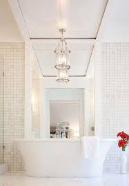 Chandelier Over Bathtub Soaking Tub by Best 25 Stand Alone Bathtubs Ideas On Pinterest Master Master