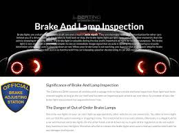 what is a brake and light inspection best brake 2017