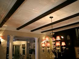 100 Beams On Ceiling How To Installing Tin Panels HGTV