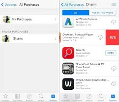 How to Hide Purchased apps on iPhone or iPad iOS 11 iOS 10 iOS 9