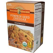 Pumpkin Seed Oil Capsules India by Dr Kracker Pumpkin Seed Cheddar Crispbreads 8 Crisp Breads 7