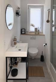 bad im scandilook badezimmer einrichtung runde