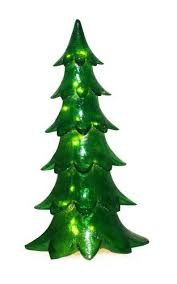 7142 12500 Barcana 29 Inch Illuminated Fiberglass Alpine Tree Christmas Light