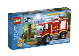 Amazon.com: LEGO City 4X4 Fire Truck 4208: Toys & Games