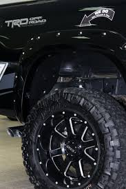 100 4x4 Truck Tires GEAR Wheels On Lifted Toyota Tundra TRD Aftermarket