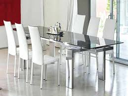 Dining Glass Table Stylish Room And Chairs Exotic Cheap Contemporary Sets Rustic 7