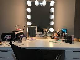 Linnmon Alex Desk Australia by Mirror On Top Of Linnmon Table Top With 5 Drawer Alex Drawers From