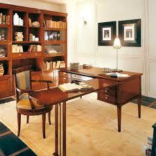 bureau classique bureau en bois classique professionnel c072 bizzotto