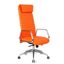 fice Chair Orange In Chairs County Plan 6 Inside And Black Best