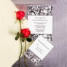 Classy Floral Wedding Invitations IWI212