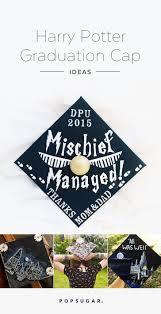 Graduation Decorations 2015 Diy by 40 Diy Graduation Cap Ideas For Major Harry Potter Fans Harry
