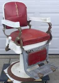 Theo A Kochs Barber Chair Footrest by Antique Theo A Kochs Barber Shop Chair Footrest Step Large 10