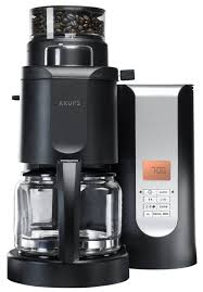 Amazon KRUPS KM7005 Grind And Brew Coffee Maker With Stainless Steel Conical Burr Grinder 10 Cup Black Drip Coffeemakers Kitchen Dining
