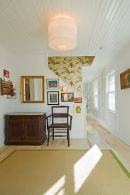 stairway decorating ideas entry contemporary with light wood floor