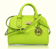 nwt michael kors saffiano leather small satchel shoulder handbag