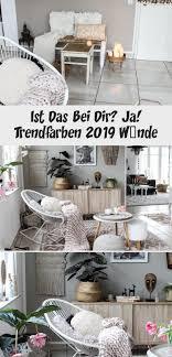 werbung interior farbtrends 2019 wandgestaltung wände