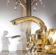 luxus bad zubehör jugendstil retro waschtisch armatur einlochbatterie gold serie cristallo made in italy barockgroßhandel de