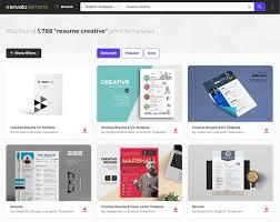 Envato Elements Creative Resume Templates