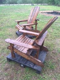 Pallet Adirondack Chair Wooden Chairs