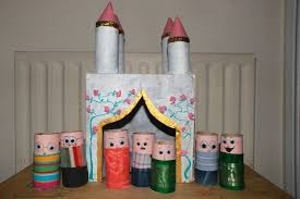 I Love This Castle And People Made From Toilet Paper Tubes Know My Toddler Would Helping Me Paint It Be So Much Fun Playing With After