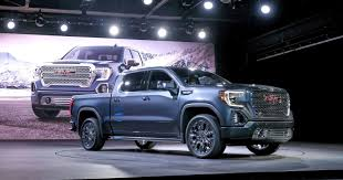 100 Truck Prices Blue Book GM Unveils 2019 GMC Sierra Denali SLT Pickup Trucks