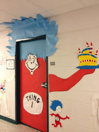 Dr Seuss Door Decorating Ideas by 22 Best Dr Suess Images On Pinterest Classroom Themes