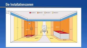 installationszonen elektroinstallation ratgeber für