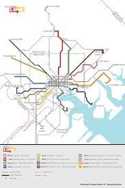 CityLink System Map Baltimore Sun