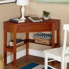 Ebay Corner Computer Desk by Corner Computer Writing Desk Living Antique White Wood Home Office