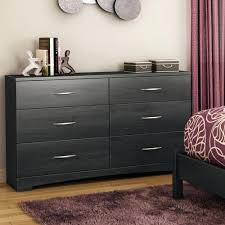 6 Drawer Dresser Black by Dressers South Shore Black Majestic Tall 6 Drawer Dresser South