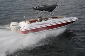 Hurricane Fun Deck 201 by Backyard Testing Pontoon U0026 Deck Boat Magazine