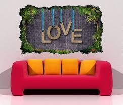3d wandtattoo liebe text schnur vintage schrift hintergrund abstrakt selbstklebend wandbild wandsticker wohnzimmer wand aufkleber 11o718