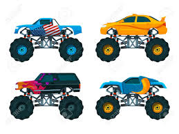 Set Big Monster Truck Cars. Vector Pictures Set Stock Photo, Picture ... Monster Truck Thrdown Eau Claire Big Rig Show Woman Standing In Big Wheel Of Monster Truck Usa Stock Photo Toy With Wheels Bigfoot Isolated Dummy Trucks Wiki Fandom Powered By Wikia Foot 7 Advertised On The Web As Foo Flickr Madness 15 Crush Cars Squid Rc Car And New Large Remote Control 1 8 Speed Racing The Worlds Longest Throttles Onto Trade Floor Xt 112 Scale Size Upto 42 Kmph Blue Kahuna Image Bigbossmonstertckcrushingcarsb3655njpg Jonotoys Boys 12 Cm Red Gigabikes