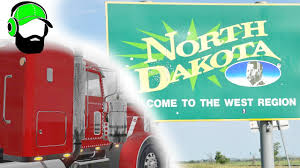 American Truck Simulator - To North Dakota With Tires - YouTube