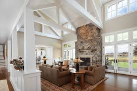 Modern Meets Rustic Living Room