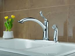 Delta Lewiston Pull Out Kitchen Faucet by Complete Your Kitchen With The Delta Kitchen Faucets Designwalls Com
