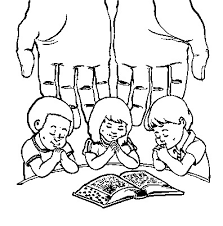Free Lords Prayer Coloring Pages Kids Page From Whats In