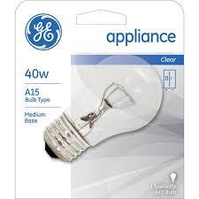 ge appliance 40 watt a15 1 pack walmart