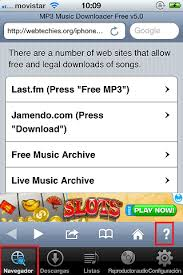 MP3 Music Downloader music on your iPhone