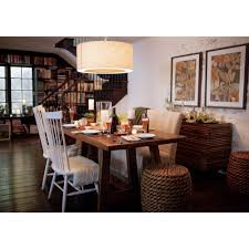 Crate And Barrel Basque Dining Room Set by Slip Bench With Linen Slipcover Crate And Barrel Kitchen
