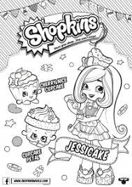Shopkins Season 6 Jessicake Coloring Page