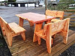 Amazing Ideas Outdoor Log Furniture Kits Canada Finishes Colorado Michigan Uk