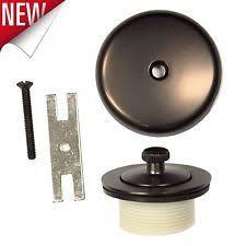 Bathtub Overflow Plate Gasket by Tub Drain Kit Plumbing U0026 Fixtures Ebay